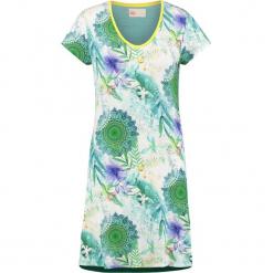 """Koszua nocna """"Viridi"""" w kolorze zielonym ze wzorem. Szare koszule nocne i halki marki Esprit. W wyprzedaży za 181,95 zł."""