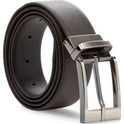 Pasek Męski TRUSSARDI JEANS - Belt Saffiano 71L00004 95 B220. Brązowe paski męskie Trussardi Jeans, w paski, z jeansu. W wyprzedaży za 229,00 zł.