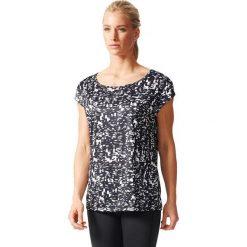 Adidas Koszulka treningowa damska AOP TEE czarny r. S (AB5698). Czarne bluzki damskie Adidas, s. Za 103,12 zł.