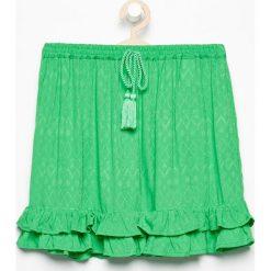 Spódnica z falbankami - Zielony. Zielone spódniczki dziewczęce Reserved. W wyprzedaży za 39,99 zł.