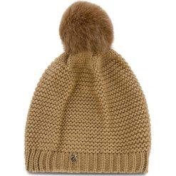 Czapka TRUSSARDI JEANS - Hat Knitted 59Z00116 B050. Brązowe czapki zimowe damskie marki Trussardi Jeans, z jeansu. Za 189,00 zł.