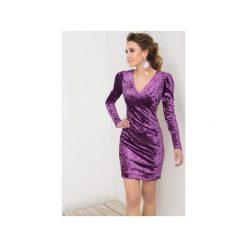 Sukienka Paris Fioletowa. Fioletowe sukienki balowe marki Flawdress, l. Za 229,00 zł.