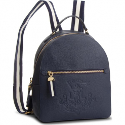Plecak LAUREN RALPH LAUREN - Huntley 431716032001  Navy. Niebieskie plecaki damskie Lauren Ralph Lauren, ze skóry ekologicznej, eleganckie. Za 1209,00 zł.