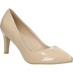 Czółenka na słupku Casu AH86036-14. Czerwone buty ślubne damskie marki Casu, na słupku. Za 39,99 zł.