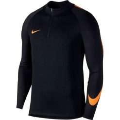 Bejsbolówki męskie: Nike Bluza męska Dry Squad Dril Top czarna r. M (859197-015)