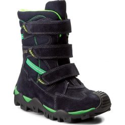 Buty zimowe chłopięce: Śniegowce BARTEK – 97646T-2/04P Ocean