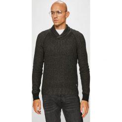 Blend - Sweter. Brązowe golfy męskie marki Blend, l, z bawełny, bez kaptura. Za 149,90 zł.