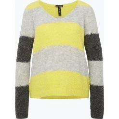 Swetry klasyczne damskie: Marc Cain Sports – Sweter damski z dodatkiem alpaki, żółty