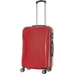 Walizki: Walizka w kolorze czerwonym – 40 x 66 x 26 cm