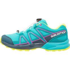 Salomon SPEEDCROSS Obuwie do biegania Szlak ceramic/reflecting pond/lime punch. Niebieskie buty sportowe chłopięce Salomon, z gumy, salomon speedcross. W wyprzedaży za 197,40 zł.