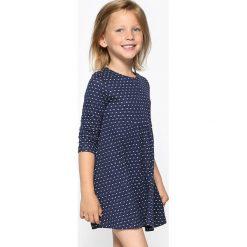 Sukienki dziewczęce: Żakardowa sukienka w serca, 3-12 lat