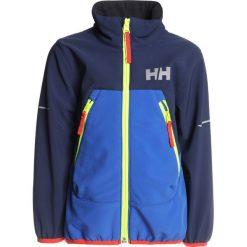 Helly Hansen BERG JACKET  Kurtka Softshell olympian blue. Niebieskie kurtki chłopięce sportowe marki Helly Hansen, z elastanu. Za 319,00 zł.