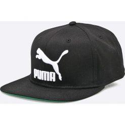 Puma - Czapka. Czarne czapki z daszkiem męskie Puma, z poliesteru. W wyprzedaży za 69,90 zł.