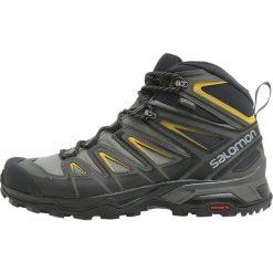Buty trekkingowe męskie: Salomon X ULTRA 3 MID GTX Buty trekkingowe castor gray/black/green sulphur