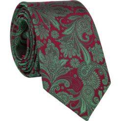 Jedwabny krawat KW000084. Szare krawaty męskie marki Reserved, w paski. Za 129,00 zł.