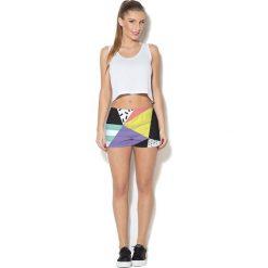 Colour Pleasure Spodnie damskie CP-020 24 czarno-zółte r. 3XL/4XL. Fioletowe spodnie dresowe damskie marki Colour pleasure, uniwersalny. Za 72,34 zł.