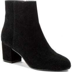Botki ALDO - Ciredia 50347205 91. Czarne buty zimowe damskie ALDO, z materiału, na obcasie. W wyprzedaży za 259,00 zł.