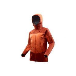 Kurtka trekkingowa Trek 500 męska. Brązowe kurtki męskie marki LIGNE VERNEY CARRON, m, z bawełny. Za 499,99 zł.