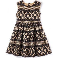 Sukienki dziewczęce: Sukienka rozszerzana z błyszczącymi motywami, 3-12 lat