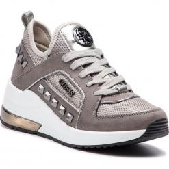 Sneakersy GUESS - FL5JUL FAB12 SILVE. Czarne sneakersy damskie marki Guess, z materiału. Za 629,00 zł.