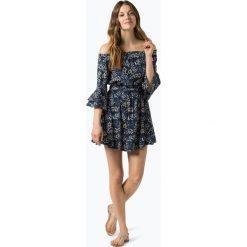 Review - Sukienka damska, biały. Niebieskie sukienki mini marki Reserved, z odkrytymi ramionami. Za 139,95 zł.