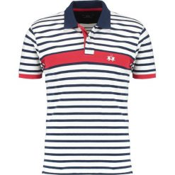 Koszulki polo: La Martina STRIPED STRETCH Koszulka polo optic white/navy
