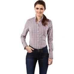 Bluzki damskie: Bluzka w kolorze jasnoróżowo-białym
