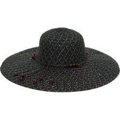 Kapelusz damski Błyskotka czarny (cz16115). Czarne kapelusze damskie Art of Polo. Za 32,73 zł.