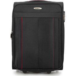 Walizka kabinowa V25-3S-271-10. Czarne walizki marki Wittchen, małe. Za 139,00 zł.