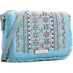 Torebka MONNARI - BAG3790-012 Light Blue. Niebieskie listonoszki damskie Monnari, z materiału. W wyprzedaży za 119,00 zł.