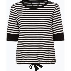 Marc O'Polo - T-shirt damski, czarny. Czarne t-shirty damskie Marc O'Polo, m, w paski, polo. Za 349,95 zł.