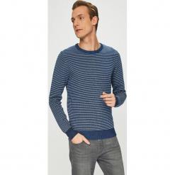 Medicine - Sweter Contemporary Classics. Niebieskie swetry klasyczne męskie marki Reserved, l, z okrągłym kołnierzem. Za 129,90 zł.