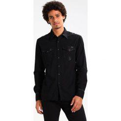 Replay Koszula black denim. Niebieskie koszule męskie marki Replay. Za 649,00 zł.