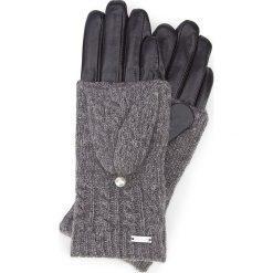 Rękawiczki damskie 39-6-570-1. Czarne rękawiczki damskie marki Wittchen. Za 99,00 zł.
