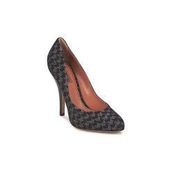 Czółenka Missoni  WM072. Czarne buty ślubne damskie Missoni. Za 1560,30 zł.