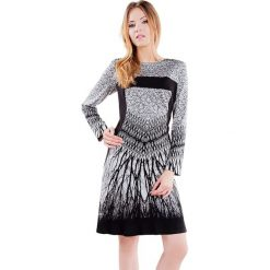 Długie sukienki: Sukienka w kolorze szaro-czarnym