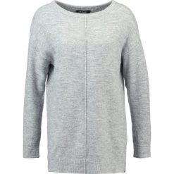 Swetry klasyczne damskie: Soft Rebels PENNY  Sweter light grey melange