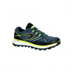 Buty do biegania KIPRUN TRAIL MT męskie. Czarne buty do biegania męskie marki KALENJI, z gumy. W wyprzedaży za 219,99 zł.