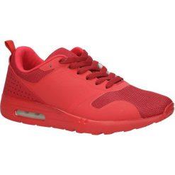 Czerwone buty sportowe sznurowane Casu A6031-2. Czerwone halówki męskie Casu, na sznurówki. Za 79,99 zł.