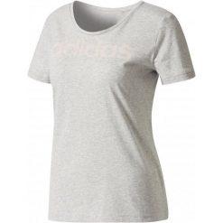 Adidas Koszulka Special Linear Medium Grey Heather M. Białe bluzki sportowe damskie marki Adidas, m. Za 79,00 zł.