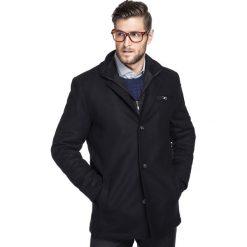 Kurtka CORRADO KUCS000071. Czarne kurtki męskie zimowe marki Giacomo Conti, m, z bawełny, z klasycznym kołnierzykiem. Za 899,00 zł.