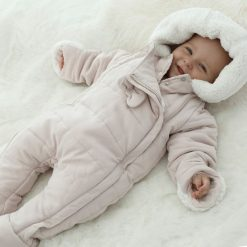 Kombinezony niemowlęce: Kombinezon z kapturem 1 miesiąc - 2 lata