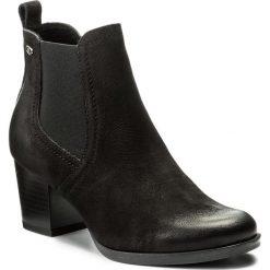 Botki LASOCKI - 1690-02 Czarny. Czarne buty zimowe damskie Lasocki, z materiału. Za 229,99 zł.