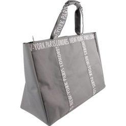 Torebki i plecaki damskie: Shopper w kolorze szarym – 73,5 x 54 x 22,5 cm