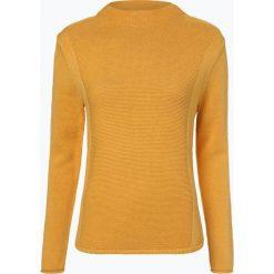 Marie Lund - Sweter damski, żółty. Żółte swetry klasyczne damskie Marie Lund, xxl, z bawełny, ze stójką. Za 229,95 zł.
