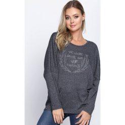 Swetry klasyczne damskie: Granatowy Sweter That I Know