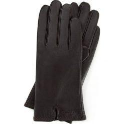 Rękawiczki damskie 39-6L-213-BB. Brązowe rękawiczki damskie marki Wittchen, z polaru. Za 99,00 zł.