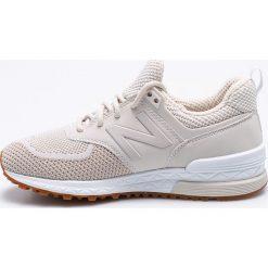 New Balance - Buty WS574WA. Brązowe buty do fitnessu damskie marki NEWFEEL, z gumy. W wyprzedaży za 399,90 zł.
