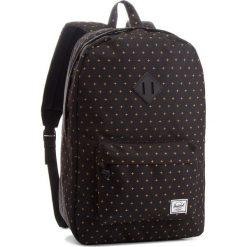 Plecak HERSCHEL - Heritage 10007-10007 Black/Gold. Czarne plecaki męskie Herschel, z materiału, sportowe. Za 299,00 zł.