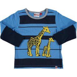 """T-shirty chłopięce z długim rękawem: Koszulka """"Tyler"""" w kolorze niebiesko-granatowym"""